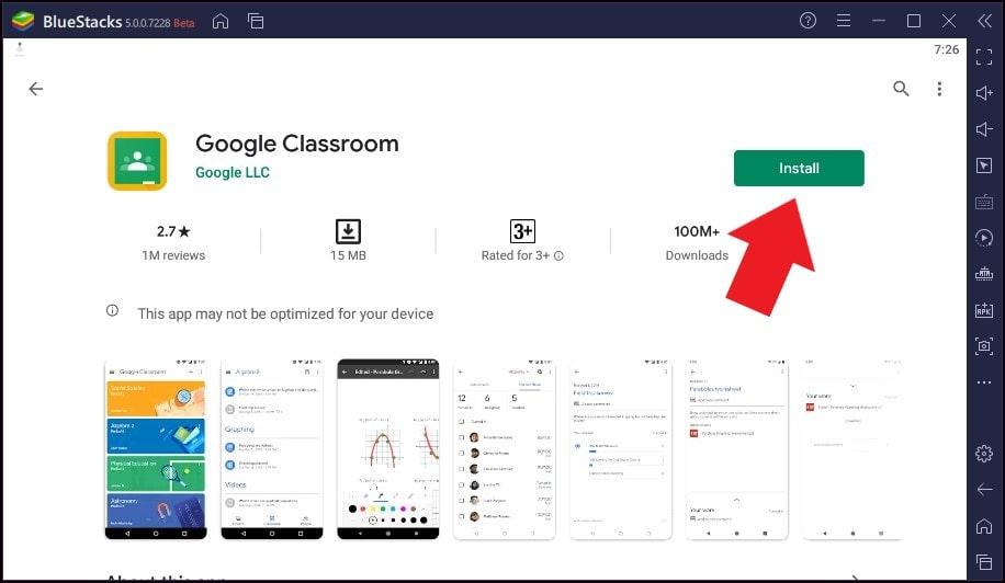 enable Dark Theme on Google Classroom