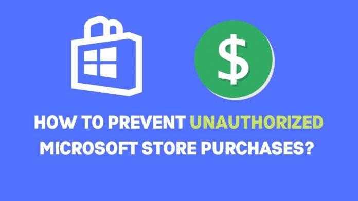 Unauthorized Microsoft purchases